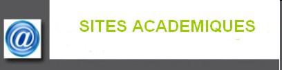 Sites academiques
